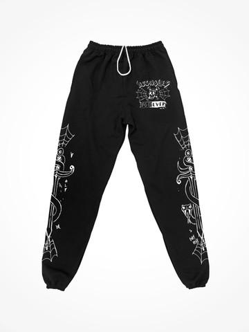ALF WEB • Black Sweatpants