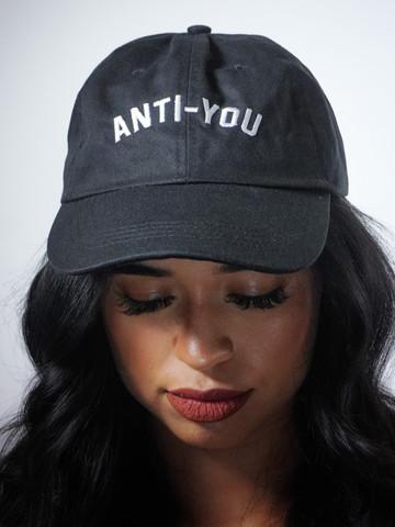 ANTI YOU • Black Dad Hat