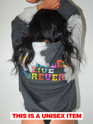 ASSHOLE WORLD • Ashes Tie Dye Hoodie