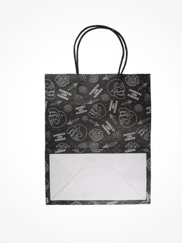 ASSHOLES LIVE FOREVER • Black Gift Bag