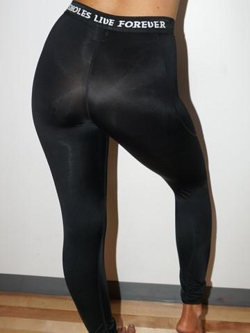 ASSHOLES LIVE FOREVER • Black Workout Leggings
