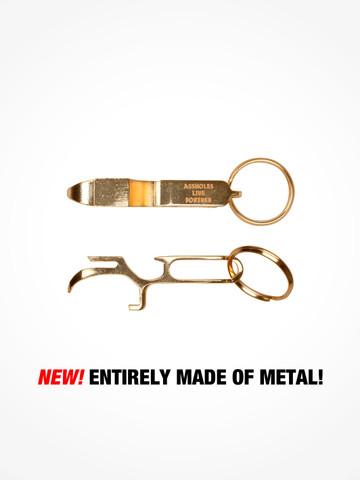 ASSHOLES LIVE FOREVER • Gold Metal Shotgun Tool