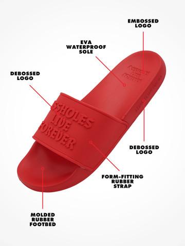 ASSHOLES LIVE FOREVER • Red Supersoft Slides