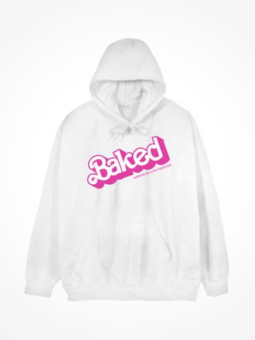 BAKED • White Hoodie