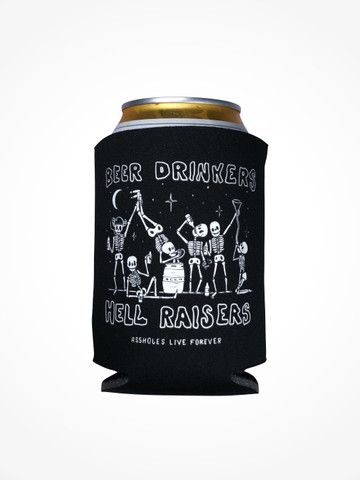 BEER DRINKERS AND HELL RAISERS • Black Coozie