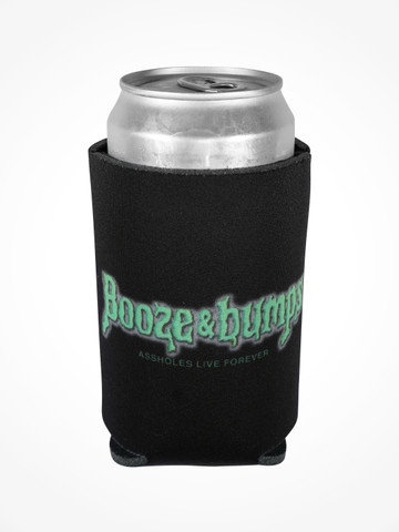 BOOZE AND BUMPS • Black Coozie