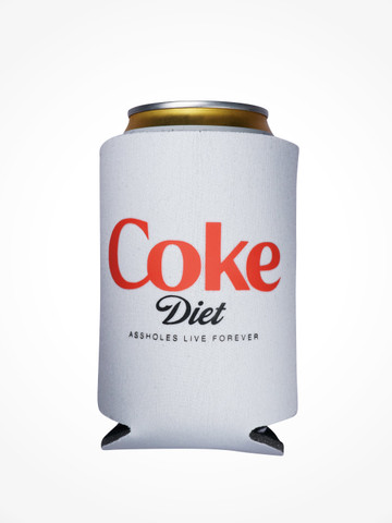 COLA DIET • Grey Coozie