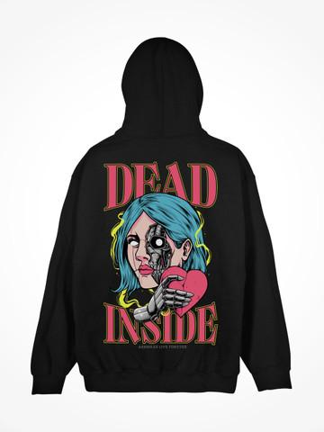 DEAD INSIDE • Black Hoodie