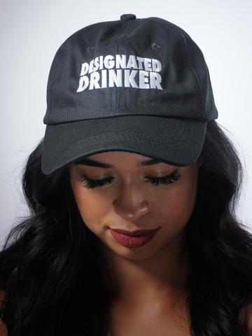 DESIGNATED DRINKER • Black Dad Hat