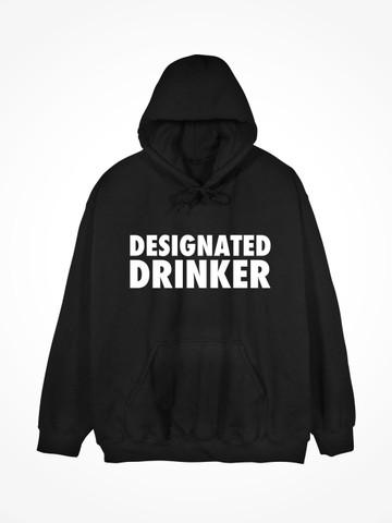 DESIGNATED DRINKER • Black Hoodie