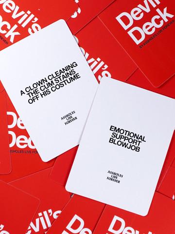 DEVILS DECK • 20 Card Expansion Pack 1