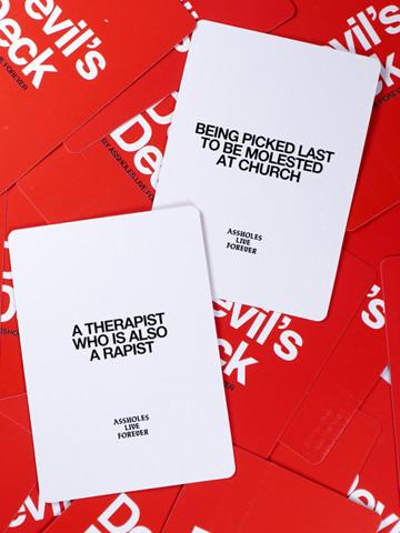 DEVILS DECK • 20 Card Expansion Pack 2