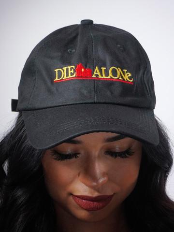 DIE ALONE • Black Dad Hat