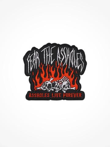 FEAR THE ASSHOLES • Patch