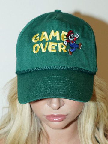 GAME OVER • Green Snapback