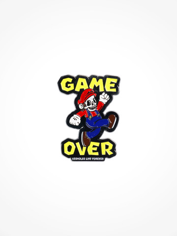GAME OVER • Pin