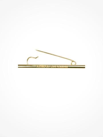 GOLD VITAMIN STRAW • Pin