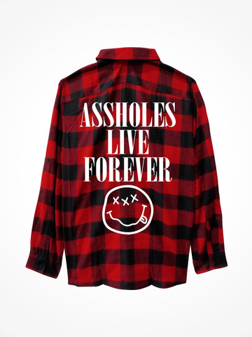 GOOD DIE YOUNG • Flannel Red/Black