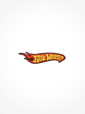 GOT WEED • Patch