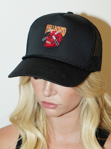 HELLBOUND • Black Trucker Hat