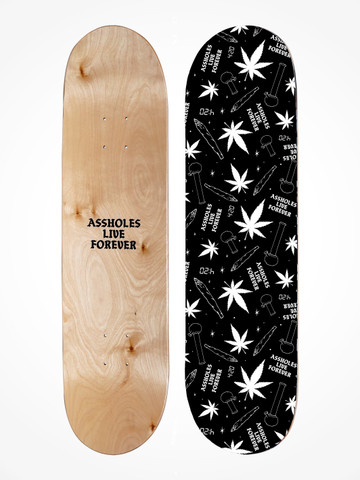 HIGH LIFE • Canadian Maple Skate Deck