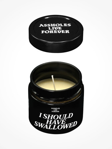 I SHOULD HAVE SWALLOWED  • Scented Candle