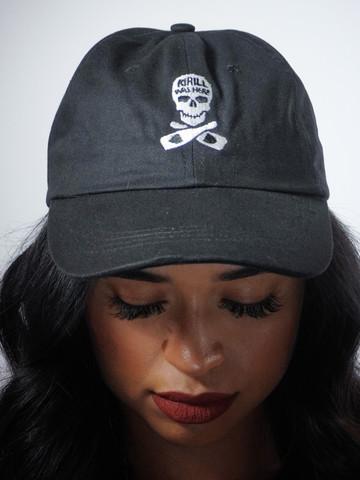 KIRILL WAS HERE • Black Dad Hat