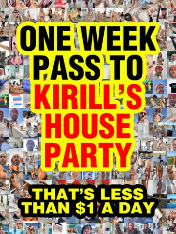 KIRILLS STORY 1 WEEK PASS • Digital Download
