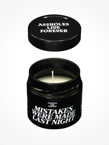 MISTAKES WERE MADE LAST NIGHT  • Scented Candle