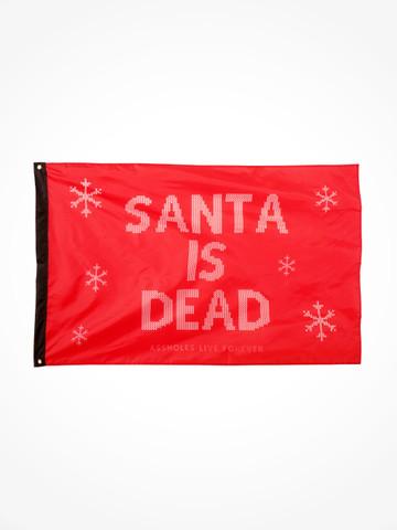 SANTA IS DEAD • Flag