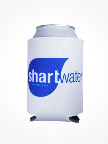SHARTWATER • White Coozie