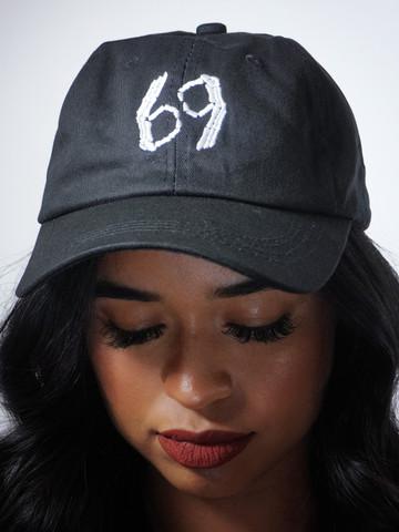 SIXTY NINE • Black Dad Hat