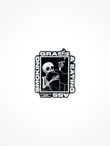 SMOKING GRASS EATING ASS • Pin