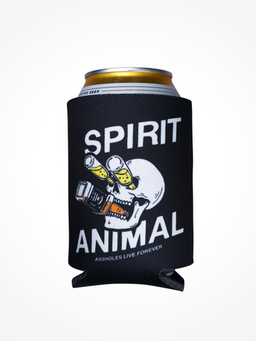 SPIRIT ANIMAL • Black Coozie