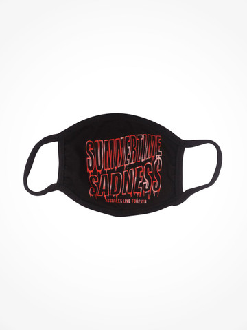 SUMMERTIME SADNESS • Black Facemask
