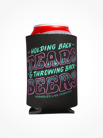 TEAR AND BEERS • Black Coozie