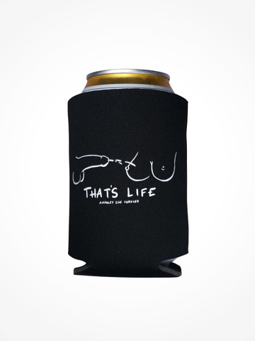 THATS LIFE • Black Coozie