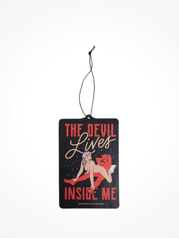 THE DEVIL LIVES INSIDE ME • Air Freshener