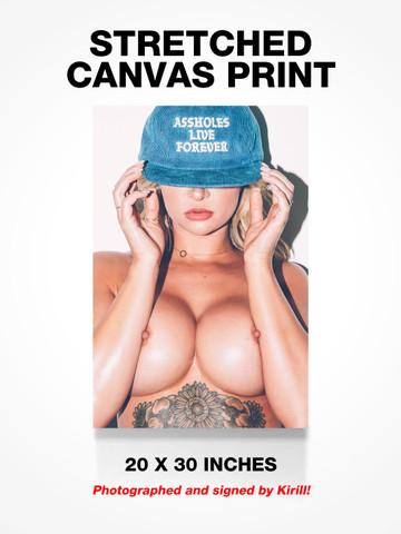 TITS AND ASSHOLES • Canvas Print