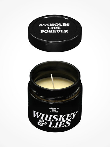 WHISKEY AND LIES  • Scented Candle