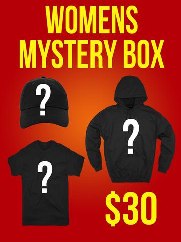 WOMEN'S TEE, HOODIE, HAT • Mystery Box