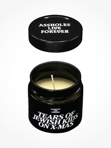 TEARS OF JEWISH KIDS ON XMAS  • Scented Candle