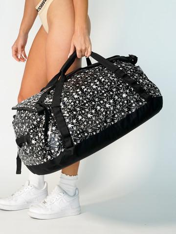 HIGH LIFE  • Black Camping Duffle Bag