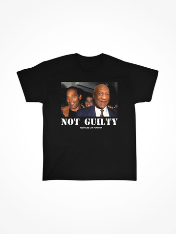 NOT GUILTY PART TWO • Black Tee