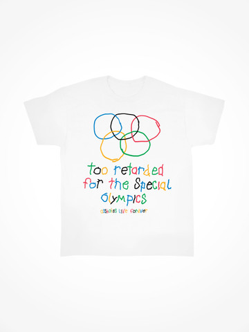 SPECIAL OLYMPICS • White Tee