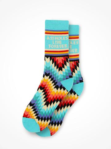 ALF TRIBAL • Teal Socks