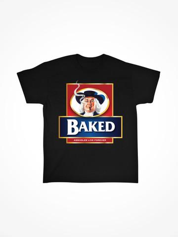 BAKED OATMEAL • Black Tee