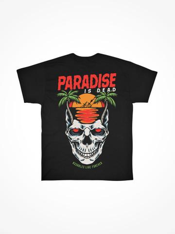 PARADISE IS DEAD • Black Tee