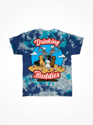 DRINKING BUDDIES • Bluegrass Tie Dye Tee