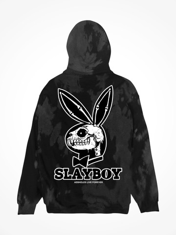 SLAYBOY • Foggy Night Tie Dye Hoodie